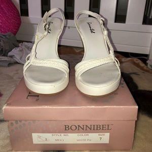 Bonnibel White Wedge